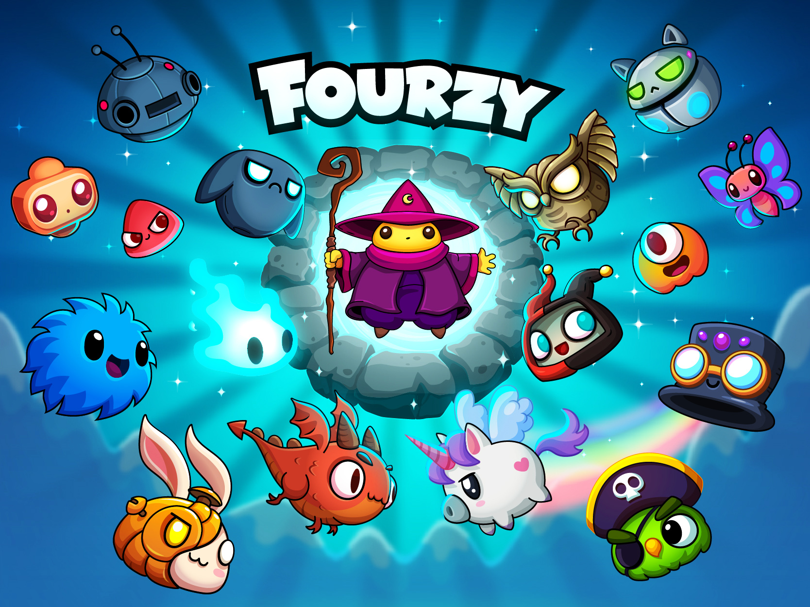 Fourzy by MindIsle Games